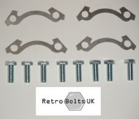 Brake Disc to Front Hub Bolts + Stainless Steel Locking Tabs - Mk2 Escort